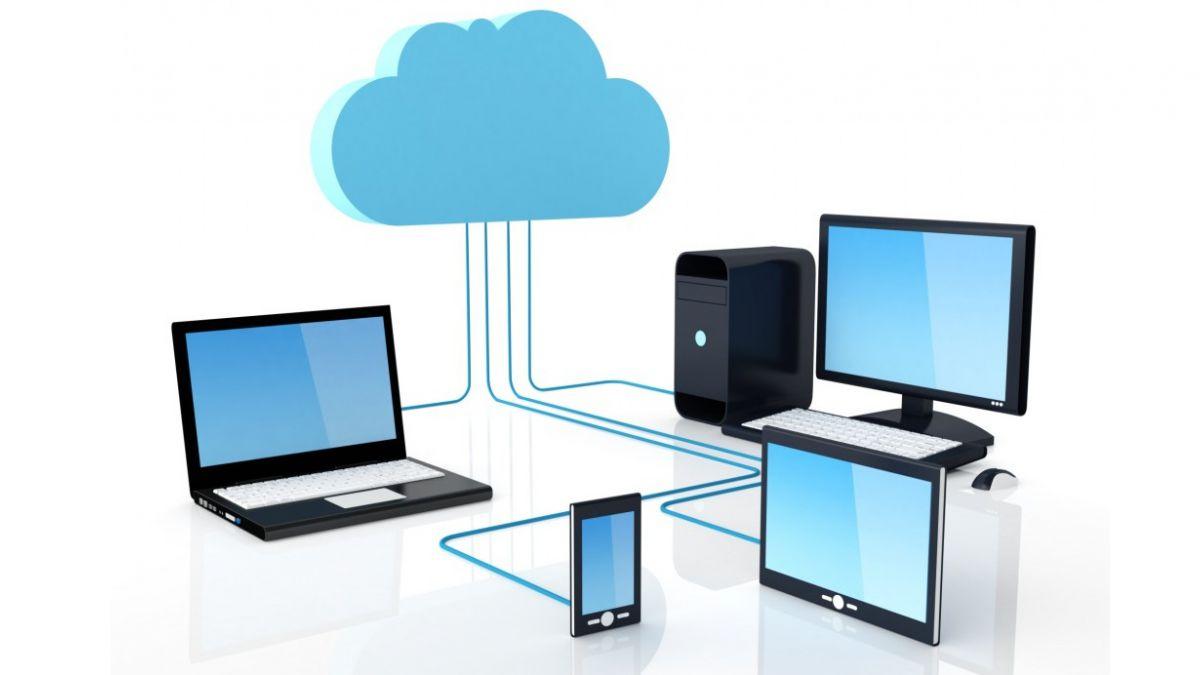 Puedes acceder a tus programas o archivos en la nube solo conectándote a Internet.