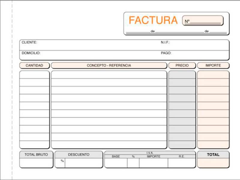 La Factura ordinaria es una clase de factura que sirve para comprobar que existió una transacción financiera.