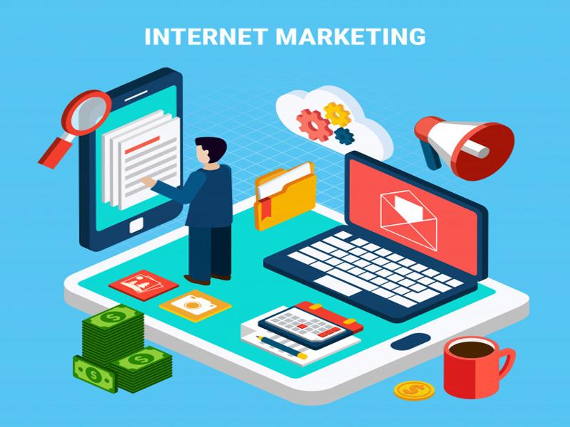 beneficios del internet que se consideraron se puede concluir que las empresas hacer Marketing Digital