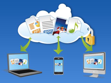 La nube es una nueva forma de almacenamiento de información